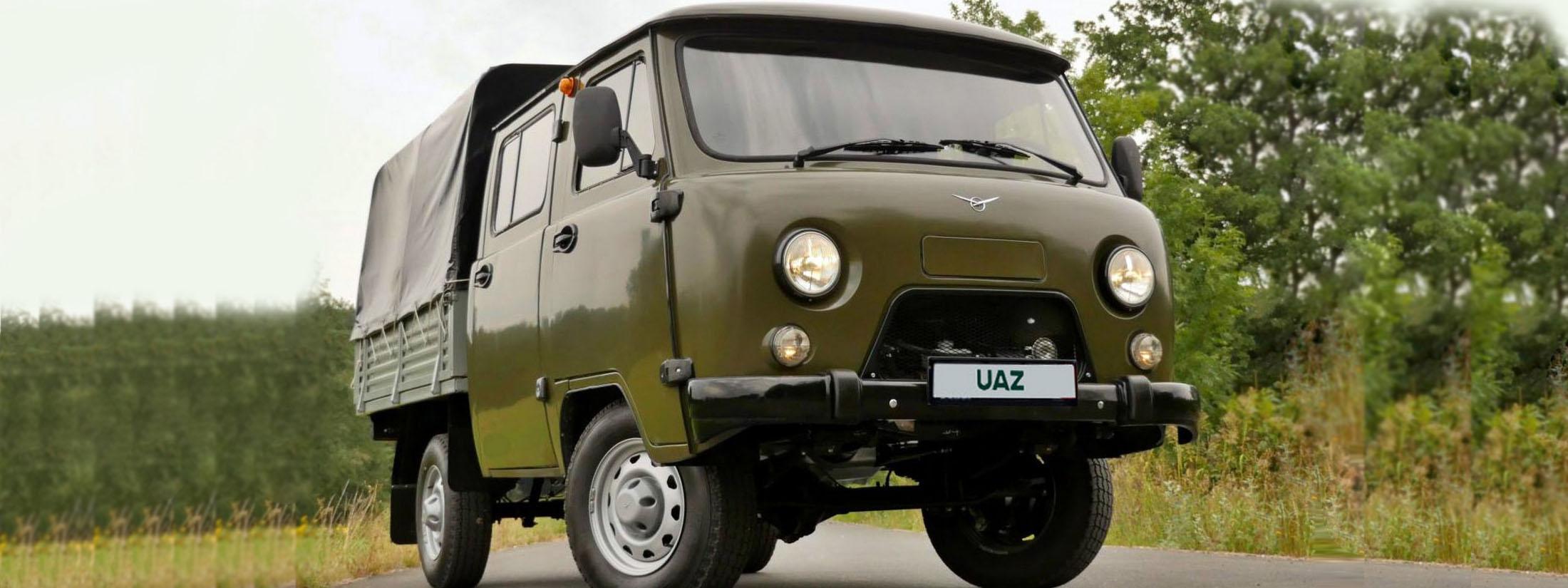 UAZ Buchanka Doppelkabine | https://madeinrussia.de