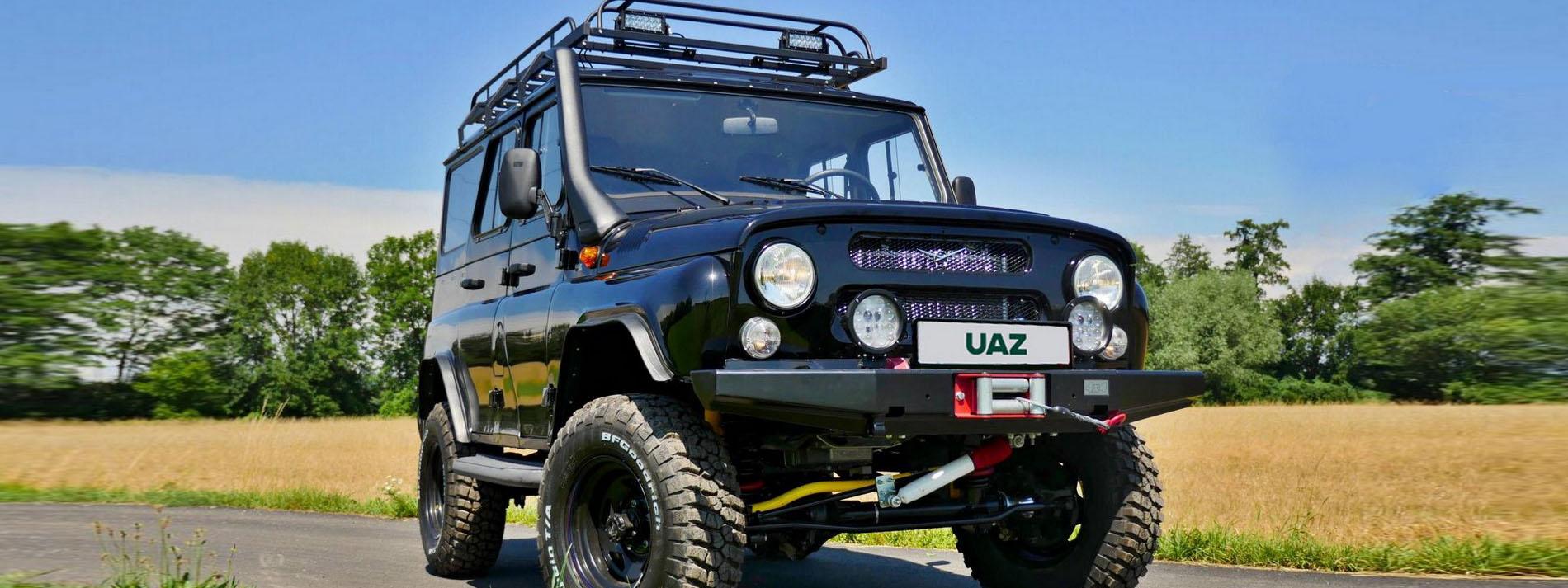 UAZ Hunter   http://madeinrussia.de